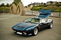 De Tomaso Pantera GT5S  A long time ago, I wanted to own one, race a vette and hopefully win. I thought then I could sell it, but that didn't happen! rjk