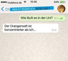 """Die großartige Facebook-Seite """"Wer ist eigentlich dieser Uni?"""" postet sensationell lustige WhatsApp-Nachrichten von Studenten."""