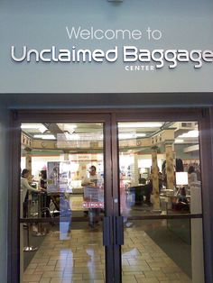 The Unclaimed Baggage Center in Scottsboro, Alabama