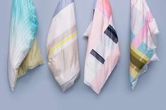Colourful carpets and linens, by Dutch designers for Danish brand HAY