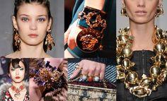 Autumn/Winter 2014 Catwalk Jewellery Trends