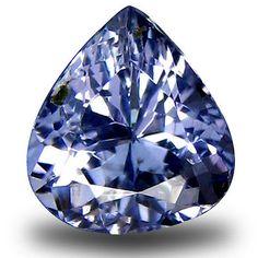 Tanzanite 4195: 1.14 Ct Aa+ Eye-Popping Pear Shape (7 X 6 Mm) Bluish Violet Tanzanite Gemstone BUY IT NOW ONLY: $34.99