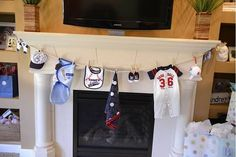Everything baseball clothes line