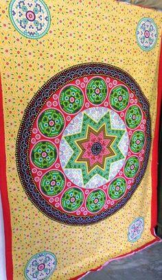 Large Twin  Christmas-Gift-Wall-Hanging- Bandej Mandala   indian tapestry Bedspr #DoesNotApply #ArtDecoStyle