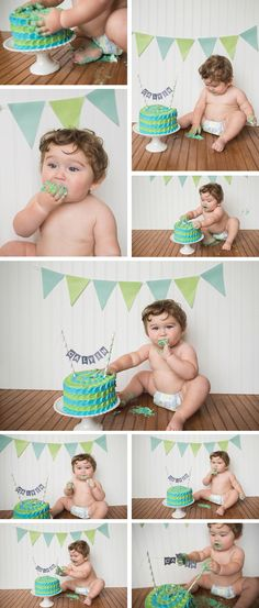 first birthday boy cake smash ideas | brittany chandler photography