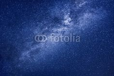 Wall Mural milky way stars background