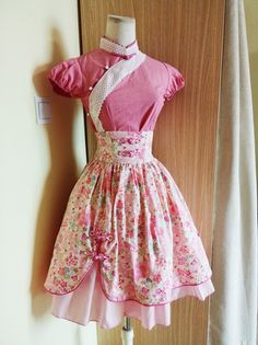 Classic Chinese Style Stand Collar Printed JSK Lolita Outfits