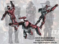 RGatt Personal Work and Tests: WAR MACHINE MK-II FREE PAPERCRAFT