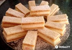 Hungarian Desserts, Hungarian Recipes, Hungarian Food, Cake Bars, Winter Food, Pound Cake, Coffee Cake, Cornbread, Food And Drink