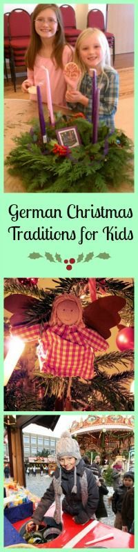 Try some of these German Christmas Traditions kids will love!