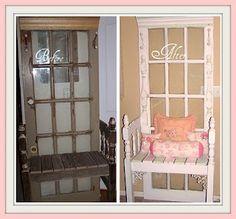 White Furniture, Shabby Chic Furniture, Vintage Furniture, Diy Furniture, Homemade Furniture, Furniture Repair, Furniture Styles, Garden Furniture, Vintage Decor