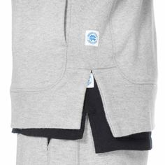 Reigning Champ x ASICS Tiger Full Zip Hoodie Heather Gray