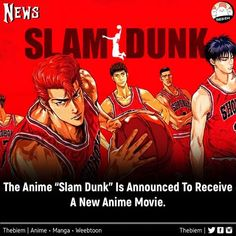 Slam Dunk, New Movies, Manga, Photo And Video, News, Videos, Anime, Movie Posters, Instagram