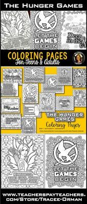 Hunger Games Coloring Book