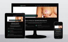 #responsivewebdesign per dermaline