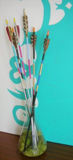 Centerpiece idea - arrangement of arrows
