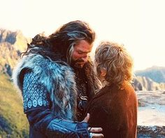 """On Thorin in the second film: """"The trust between Thorin and Bilbo has now been established. He's gone from somebody that absolutely dismisses this halfling to realising he's an essential part of the quest. Bilbo becomes his confidant and that goes further into film three - we're planting seeds for when Thorin is betrayed by Bilbo..."""""""