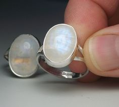 Moonstone Ring $50 @ Esty
