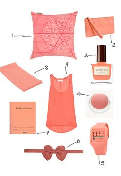 salmon is a great color. especially if it colors a watch, nail polish, pillow, or clutch.
