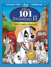 101 Dalmatians II: Patch's London Adventure Special Edition Blu-ray + DVD + Digital HD w/ Dalmatian Plush Disney Movie Club, Disney Movies To Watch, Disney Animated Movies, Disney Movie Collection, Super Hero High, Disney Blu Ray, Blu Ray Collection, Blu Ray Movies, Disney Marvel