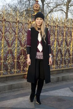 London Fashion Week Fall 2013 #lfw #streetstyle