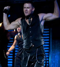 "Channing Tatum starring in ""Magic Mike"""