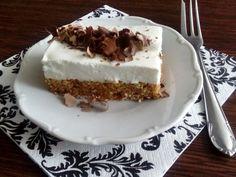 Cuketový koláč bez múky, Koláče, recept | Naničmama.sk Sweet Recipes, Healthy Recipes, Tiramisu, Zucchini, Cheesecake, Food And Drink, Low Carb, Pie, Cookies