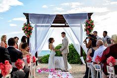 El Dorado Royale beach wedding | Sarani Weddings photography
