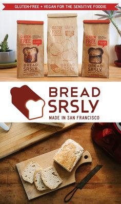 Bread SRSLY Gluten Free Sourdough Bread - it's vegan, made without top allergens, and traditionally crafted with wild yeast (Full Review and Product Details)
