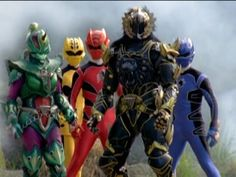 The Power Rangers and Jarrod are ready for the final battle in Power Rangers Jungle Fury. Jarrod morphs into his Black Lion mode an. Power Rangers Jungle Fury, Go Go Power Rangers, Hasbro Studios, Black Lion, Mighty Morphin Power Rangers, Live Action, Spirit Animal, Disney, Beast