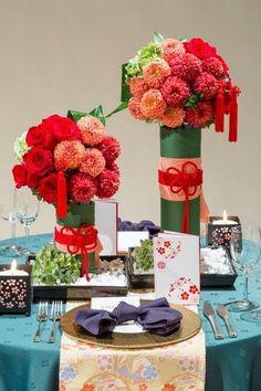 関西エアポートワシントンホテル|結婚式場写真「テーブルコーディネート」 【みんなのウェディング】