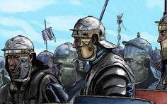 Roman Legion by JNathanIllustration.deviantart.com on @DeviantArt