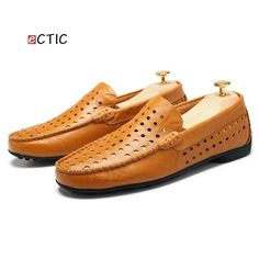 2017 Mens Loafers Luxury Brand Shoes Summer Men Casual Shoes Breathable  Good Leather Men Driving Shoes