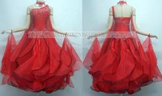 custom ballroom dance gowns love it but make modest by adding sleeve.