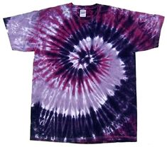 b69c95b9d Rockin' Cactus Men's Tie Dye T-Shirt-Purple Spiral-XL Rockin' Cactus  Clothing beautiful tie dyed shirt made just for you. Cotton Shirt Hand dyed  in the USA ...