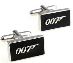 "Latest additions to our shop: ""007"" Logo, see it here: http://cuffmenow.com/products/007-cufflinks #cuffmenow"