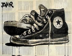 """Saatchi Art Artist: Loui Jover; Pen and Ink 2013 Drawing """"all stars"""""""