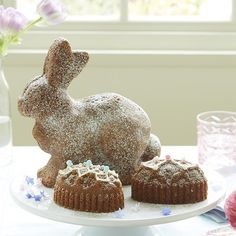 The Perfect Bunny Cake Pan for Your Easter Table — Faith's Daily Find 03.19.15