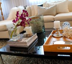 coffee table vignette | for the home | pinterest | vignettes