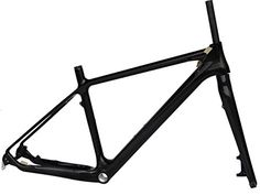 Full Carbon Glossy 26er Mountain Bike MTB BB30 Cycling Frame And Fork 19' *** You can find out more details at the link of the image.
