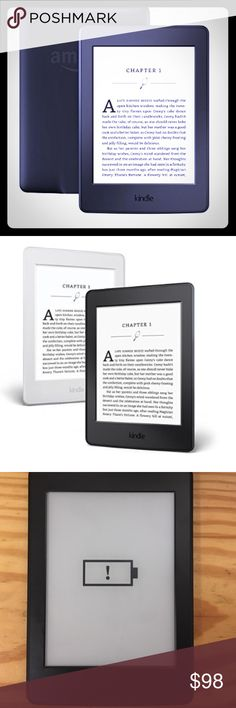 """Kindle Paperwhite High-Res Display Built-in Light Kindle Paperwhite E-reader - Black, 6"""" High-Resolution Display (300 ppi) with Built-in Light, Wi-Fi, this is brand new without the box I've never even used it once, id like to find it a new home Kindle Other"""