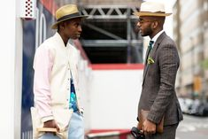 The 21 Most Fashionable Fellas In London #refinery29  http://www.refinery29.com/london-mens-fashion#slide-16  We need to invest in a boater hat, pronto!...
