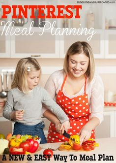 A brand new way to meal plan that takes the stress out of getting dinner on the table each night. 4 WEEKS of family friendly meals plans with PRINTABLE SHOPPING LISTS for each week. A visual way to get organized and get everyone fed! Pinterest Meal Planning an Introduction. SunshineandHurricanes.com.