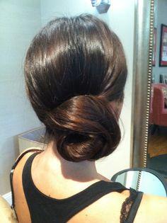 Bridal side bun, Bridal updo , wedding hairstyles , www.jenniekaybeauty.com