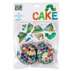 Hungry Caterpillar Cupcake Set {Kara's Party Ideas Shop}