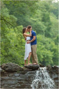 Wissahickon Valley Park Engagement | Kristen + Joe