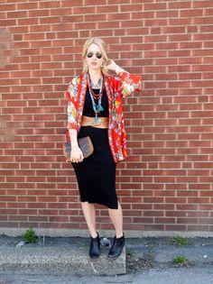 Kimono & black, basic & perfect.