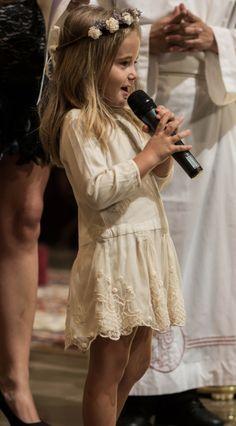 Precioso vestido de niña de arras
