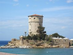 The Tower of Campese on Giglio Island, #maremma, #tuscany, #italy