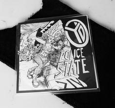 """Police State! a cD for me too! emoticon grin YD new album, I am particularly proud to have contributed to the creation of this """"Product"""" Polizia di Stato! Un CD anche per me!  YD nuovo album, sono particolarmente orgoglioso di aver contribuito alla creazione di questo """"prodotto"""""""